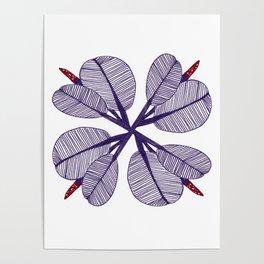 Miranda Flower Poster