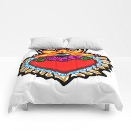 Heart Milagro Comforters