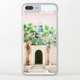 "Travel photography print ""Magical Marrakech"" photo art made in Morocco. Pastel colored. Clear iPhone Case"