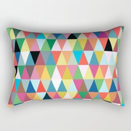 Multicolor pattern Rectangular Pillow
