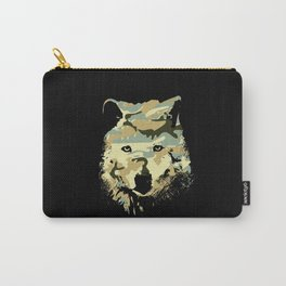 Wolf art print Carry-All Pouch