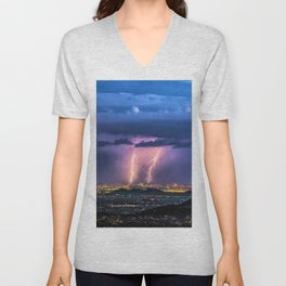 So Much Time Lost Unisex V-Neck