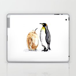 King Penguin and Chick Laptop & iPad Skin