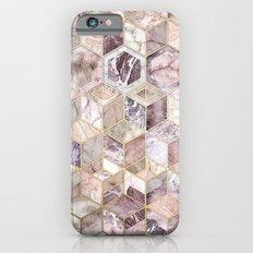 Blush Quartz Honeycomb iPhone 6 Slim Case