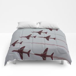 Royal Air Force Fighter Planes In Formation Comforters