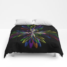 Abstrac Perfection 96 Comforters