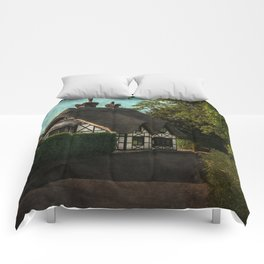 A Berkshire Half Timbered Cottage Comforters
