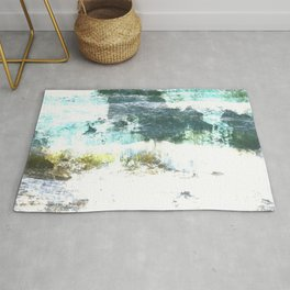 Loving the Waves series - Turquoise 1 Rug