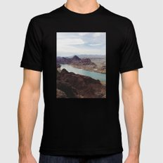 The Colorado River Mens Fitted Tee Black MEDIUM