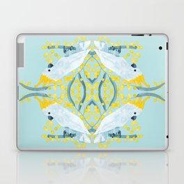 Blue Cockatoos Laptop & iPad Skin