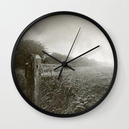 Woody Bay Wall Clock