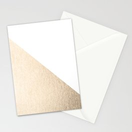 Simply Shadow in White Gold Sands Stationery Cards