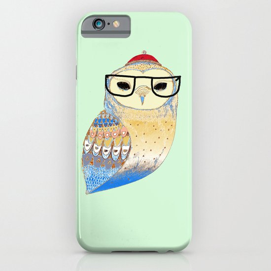 hipster owl iPhone & iPod Case