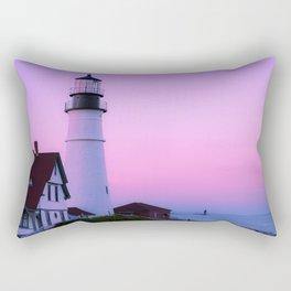 Summer Lighthouse Rectangular Pillow