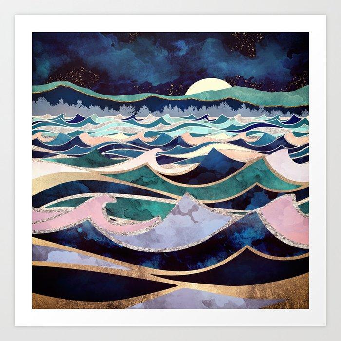 Moonlit Ocean Kunstdrucke