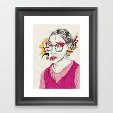 girl1 Framed Art Print