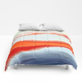 Clamshell Abstract Comforters