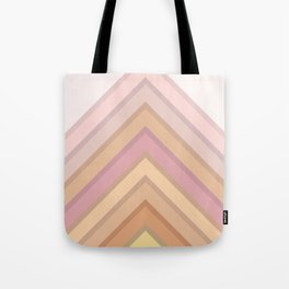 Pastel Peaks Tote Bag