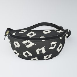 Tribal Square Dots Fanny Pack