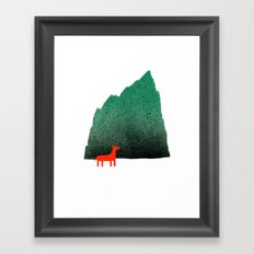 Man & Nature - Island #1 Framed Art Print