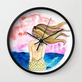 Sirena Tahina Wall Clock
