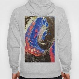 Starry Night, Fluid Art Hoody