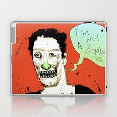 Not a Zombie Laptop & iPad Skin