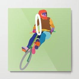 Bike 3 (square) Metal Print