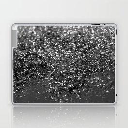 Gray Black Night Glitter #1 #shiny #decor #art #society6 Laptop & iPad Skin