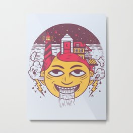 The Land of Headarea Metal Print