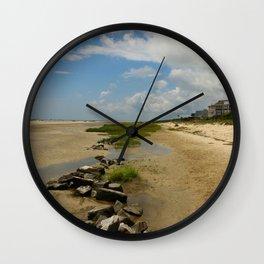 The Golden Islands Beauty Wall Clock