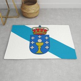 flag of Galicia Rug