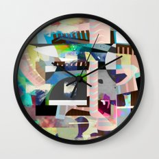 Save Face Wall Clock