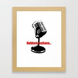CUBA: Hablará Mañana (He Will Speak Tomorrow) Framed Art Print