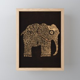 Ella the Elephant Framed Mini Art Print