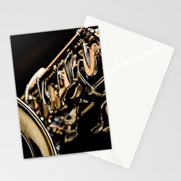 Musical Gold Stationery Cards