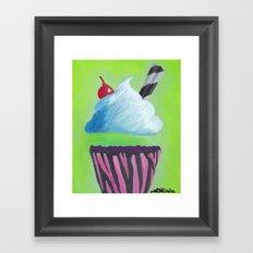 0 Calorie Delight Framed Art Print