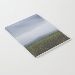 Distant Foggy Hills Notebook