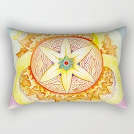 Triskelion sunshine Rectangular Pillow