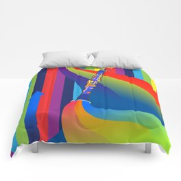 Rainbow Clarinet Comforters