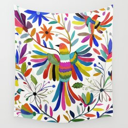 otomi bird Wall Tapestry