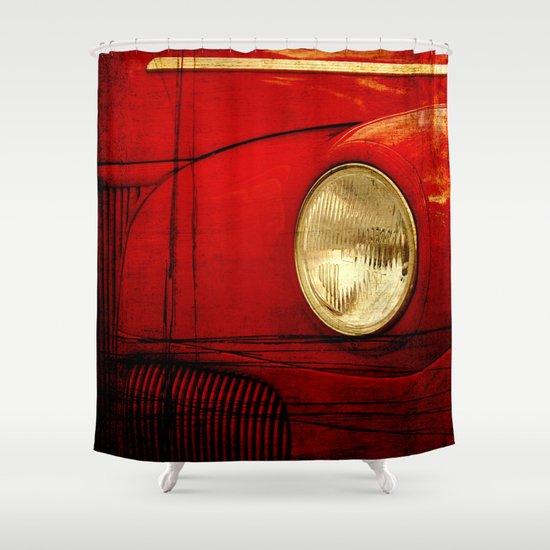 Heart Of Steel Shower Curtain