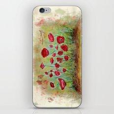 poppy island iPhone & iPod Skin