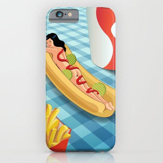 Hot Dog Girl iPhone & iPod Case