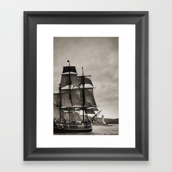 Atlantic Bound Framed Art Print