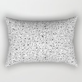 The Nudist Colony Rectangular Pillow