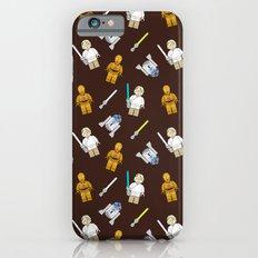 R2D2+3CPO+Luke in Brown Slim Case iPhone 6s