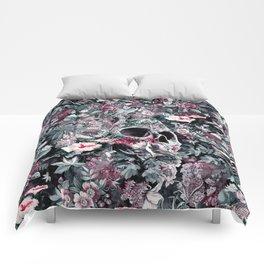 Skull Forest Comforters