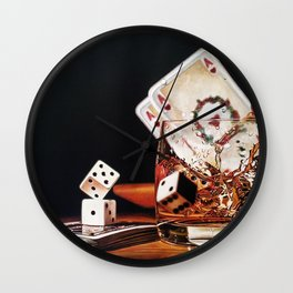After Hours III Wall Clock