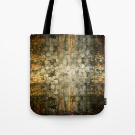 """""""Abstract golden river pebbles"""" Tote Bag"""